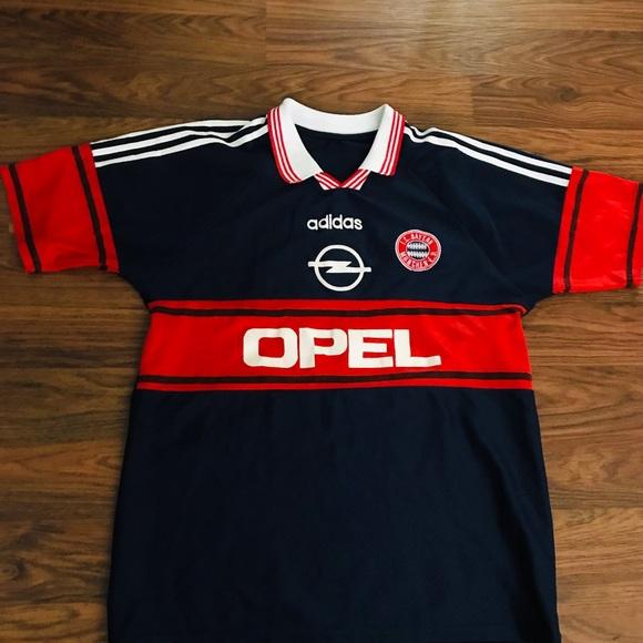 new concept e271c 5debe Adidas Bayern Munich Soccer Jersey